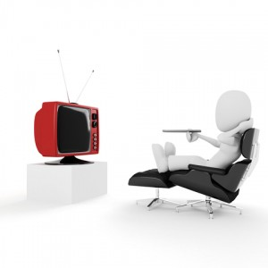 http://www.dreamstime.com/stock-photo-3d-man-relaxing-watching-tv-studio-render-image14251200